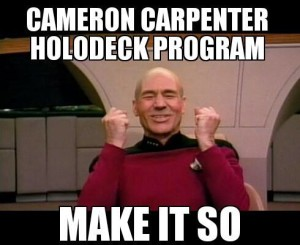 Cameron Carpenter Holodeck Program
