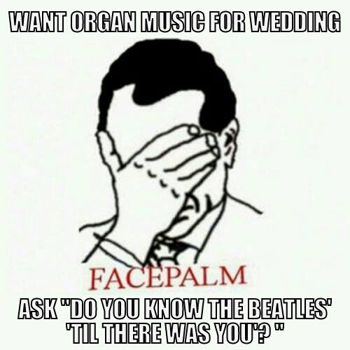 What Organ Music For Wedding